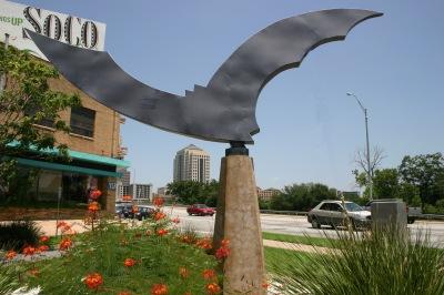 bats statue