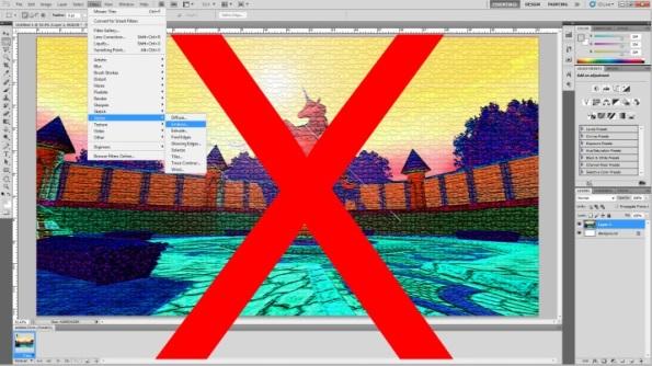 X photoshop