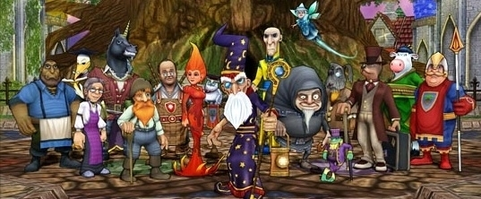 Wizard101 Characters