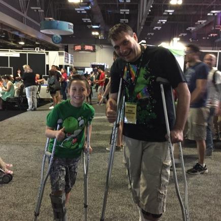 crutch buddies